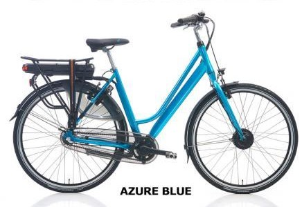 Velo assistance electrique femme Riviera nexus 28 pouces h54 azure bleu