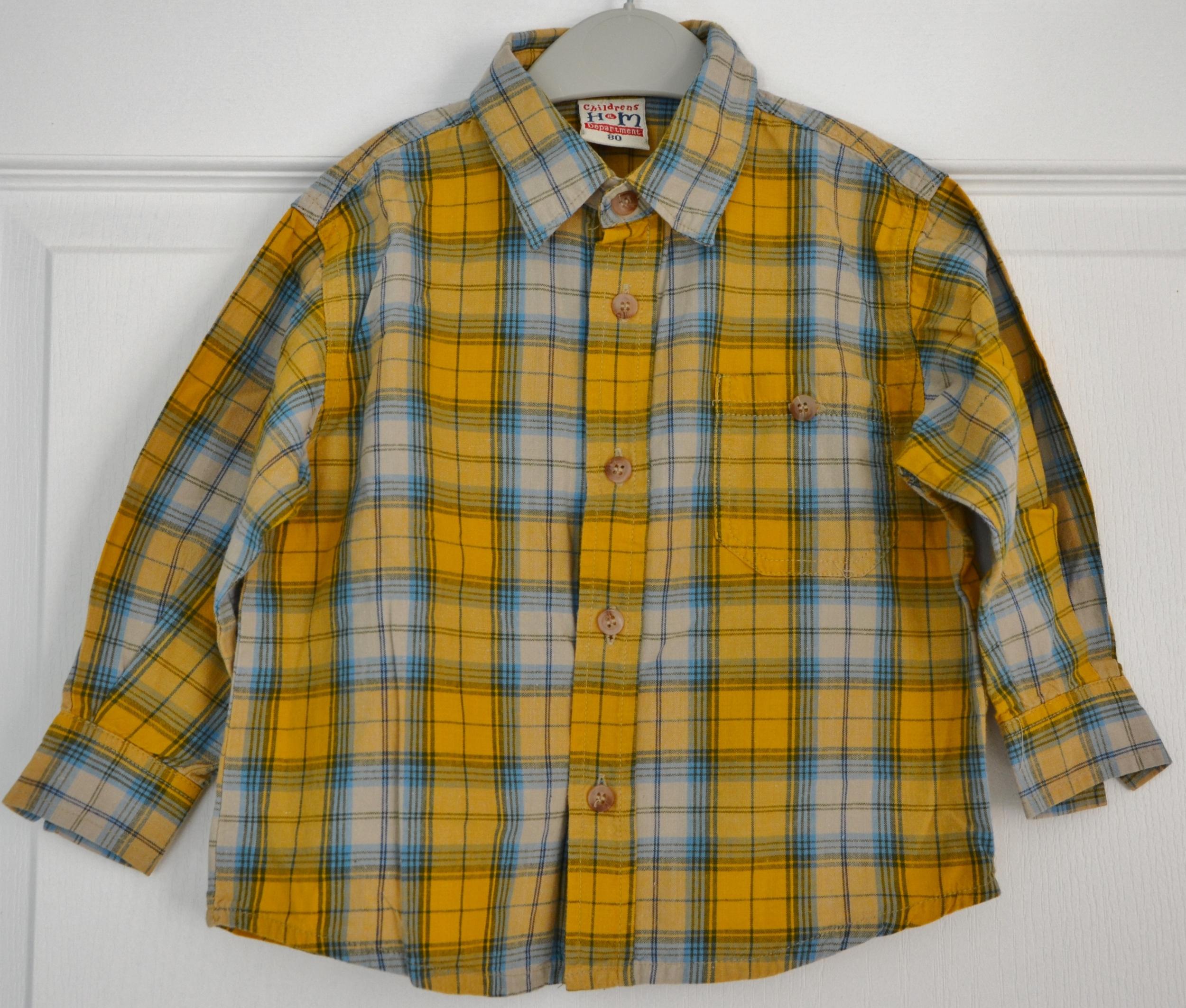 chemise HM 12 mois