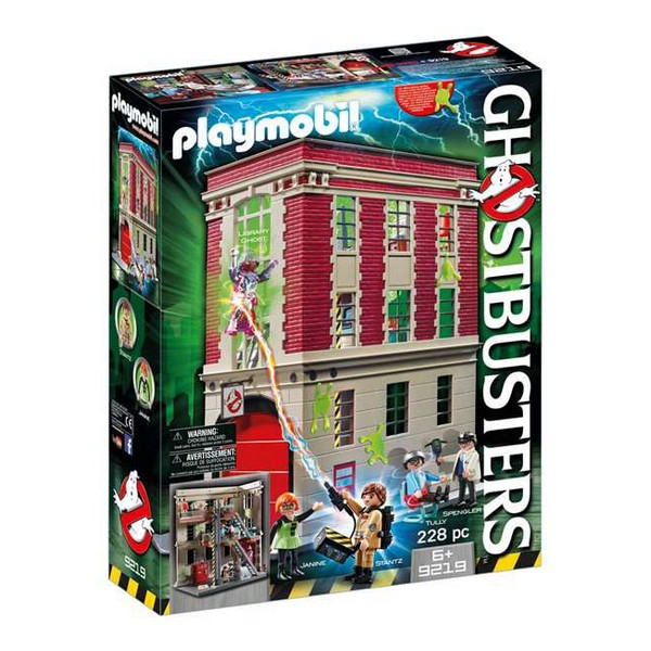 Playset Ghostbusters Playmobil 9219 (228 pcs)