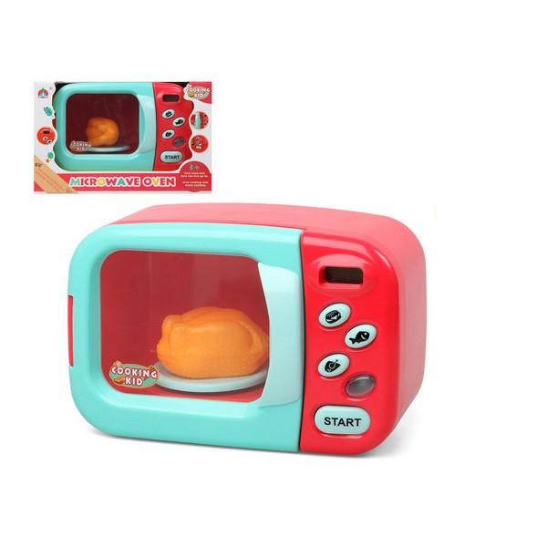 Micro onde jouet cooking kid rouge
