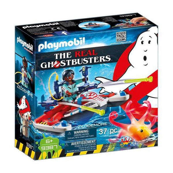 Playmobil ghostbusters playset the real 9387
