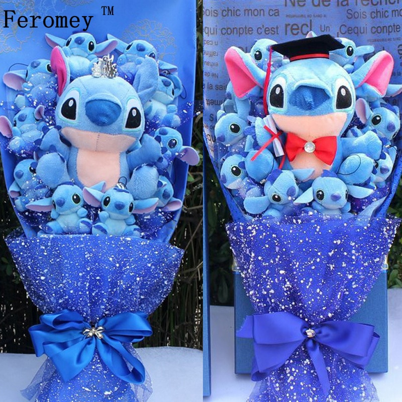 Rose bouquet cross stitch fleurs de savon Disney