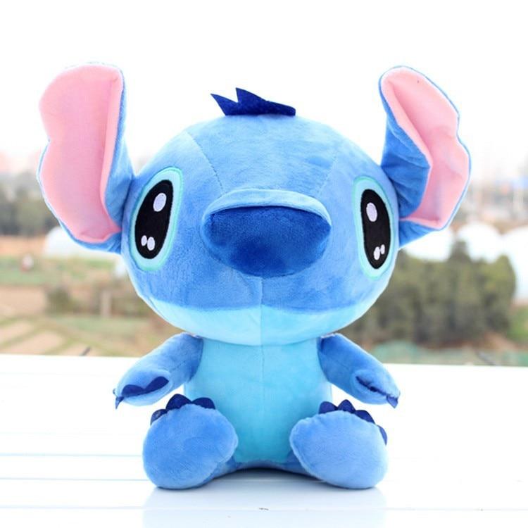 stitch peluche bleu 18 cm Kawaii