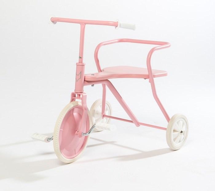 Tricycle enfant métal vintage classic Foxrider rose