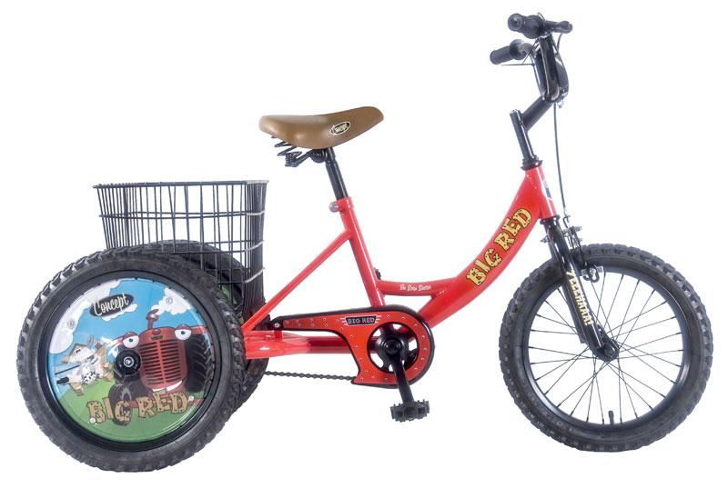 Velo 16 pouces Trike big red rouge