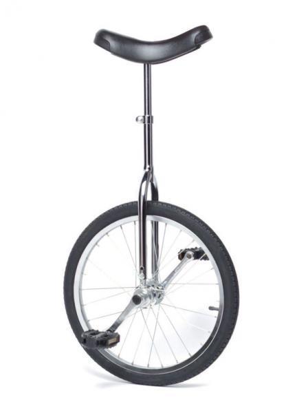 Monocycle 20 pouces chromé