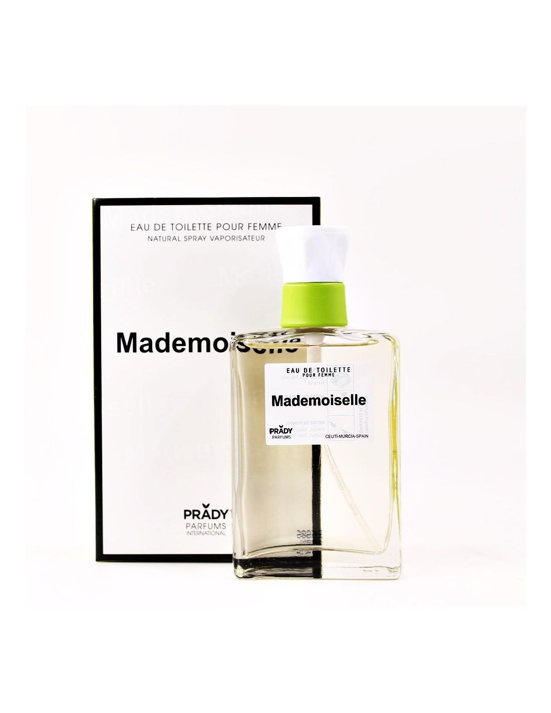 Parfum generique parfum prady femme mademoiselle