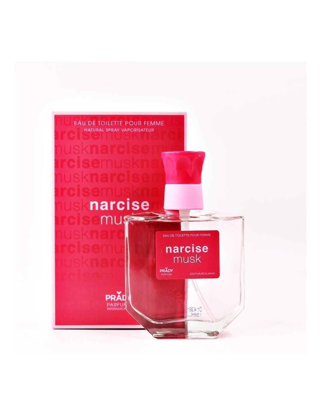 Parfum generique parfum prady femme narcise prady musk