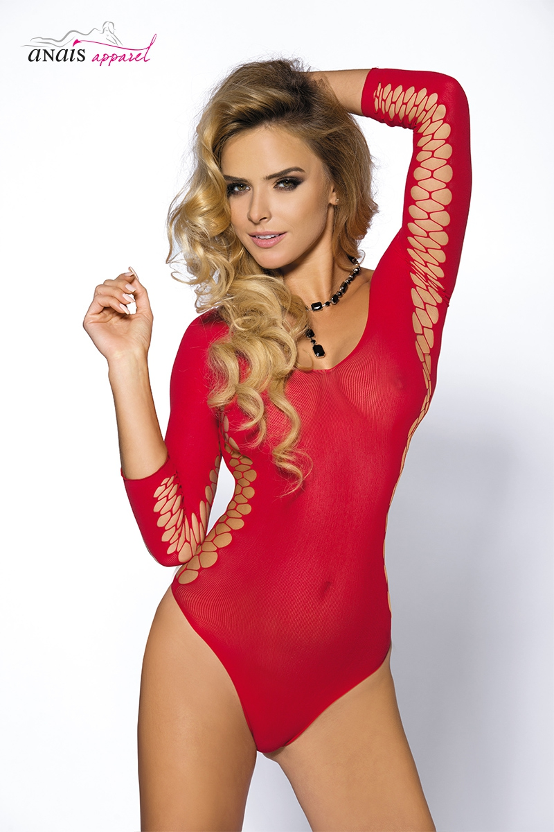 Body sexy rouge muriel lingerie Anais