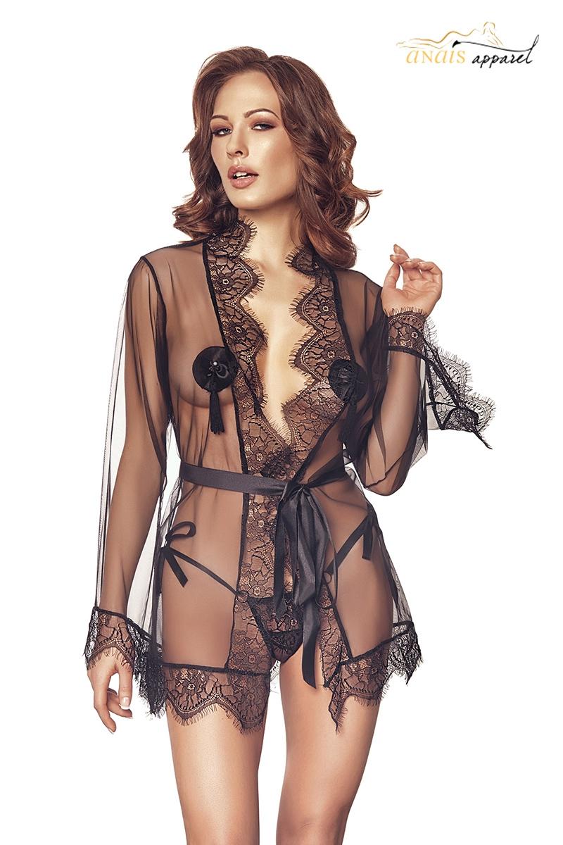Deshabille sexy tava lingerie Anais