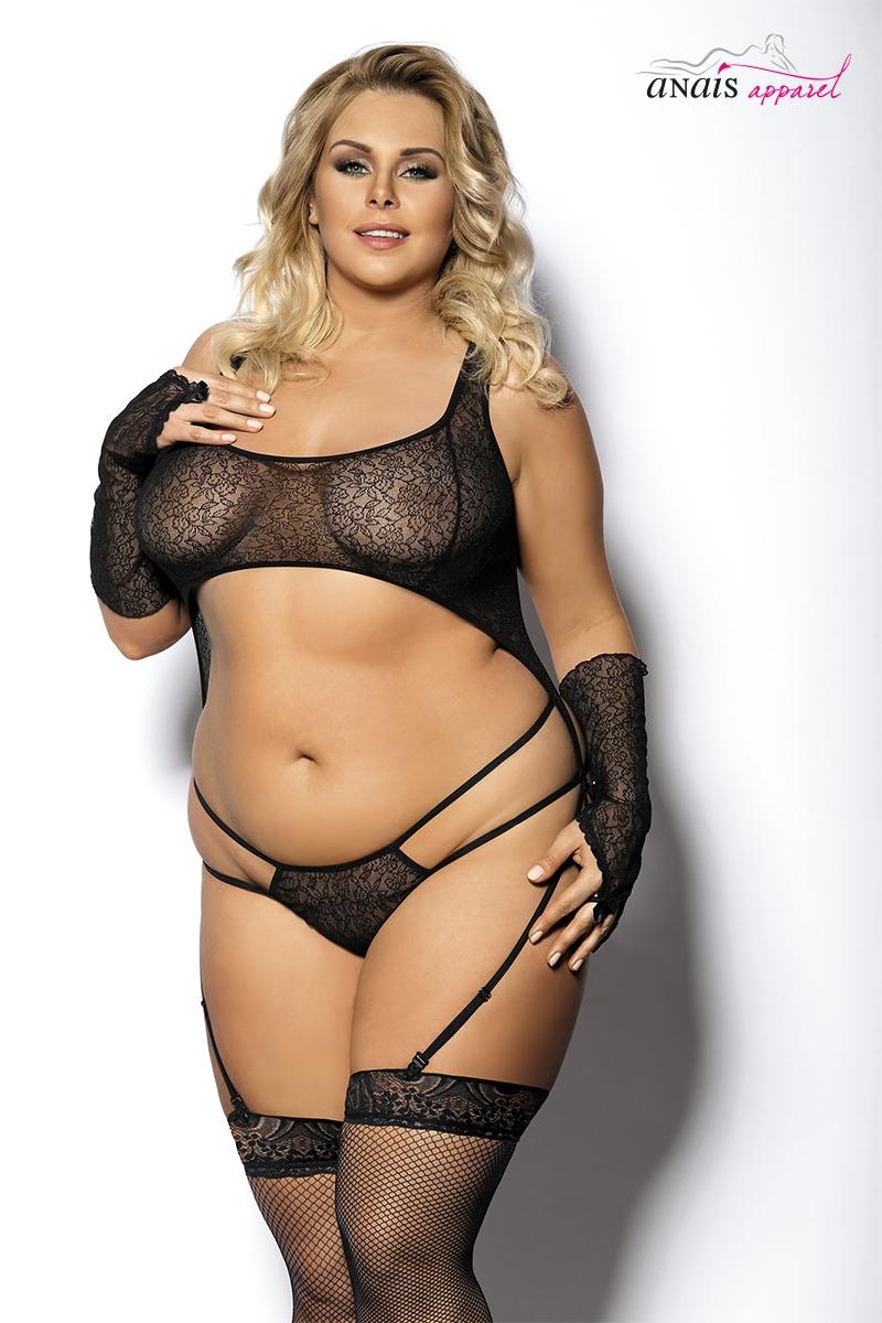 Ensemble lingerie fine grande taille algie lingerie Anais