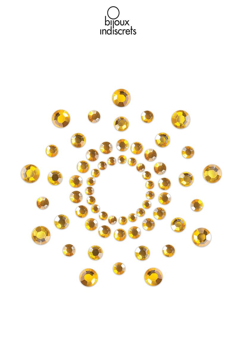 Bijoux de seins mimi dorés bijoux indiscrets