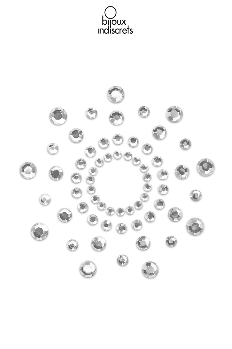 Bijoux de seins mimi argentés bijoux indiscrets