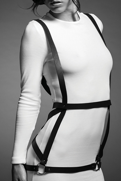 Robe harnais noir maze Bijoux indiscrets