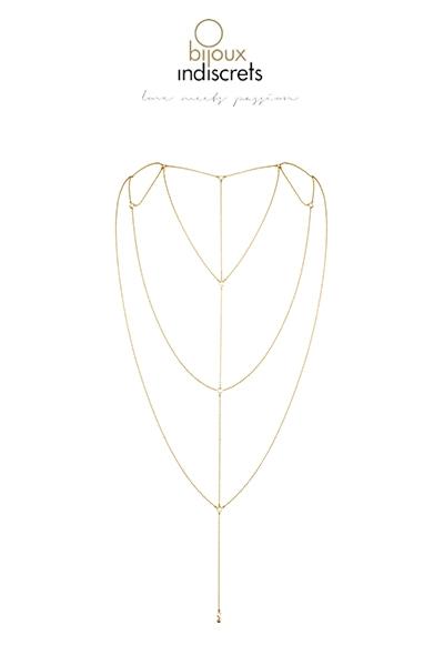 Bijoux de dos et décolleté dorée Bijoux indiscrets