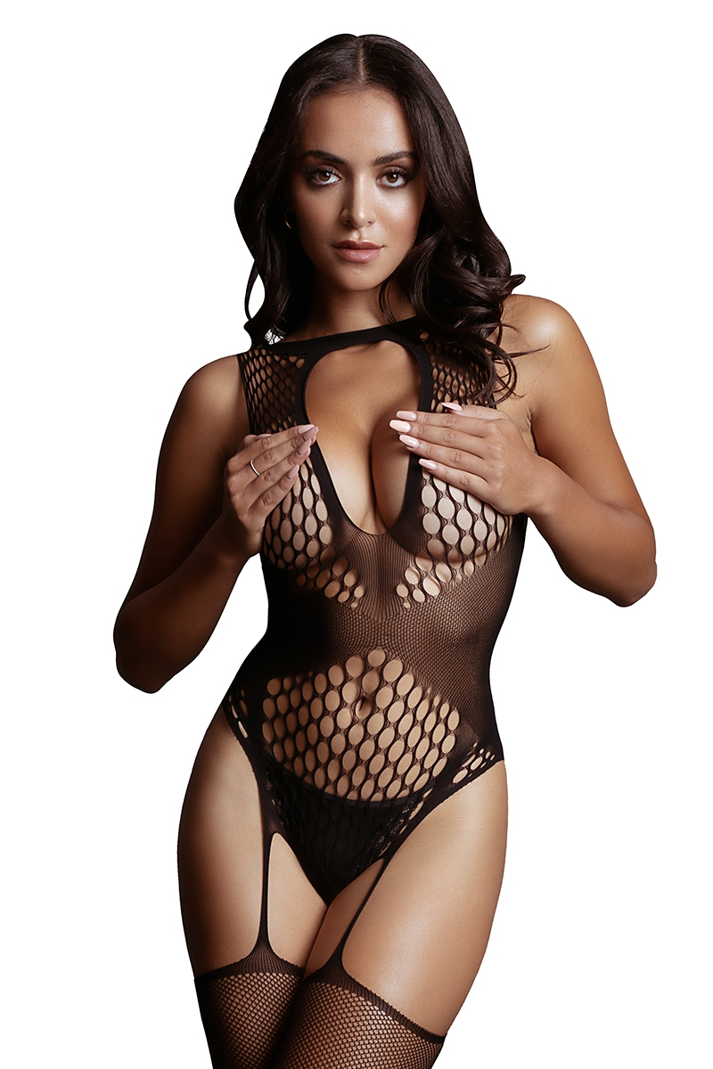 sexy lingerie bodystocking Le Désir noir 17439