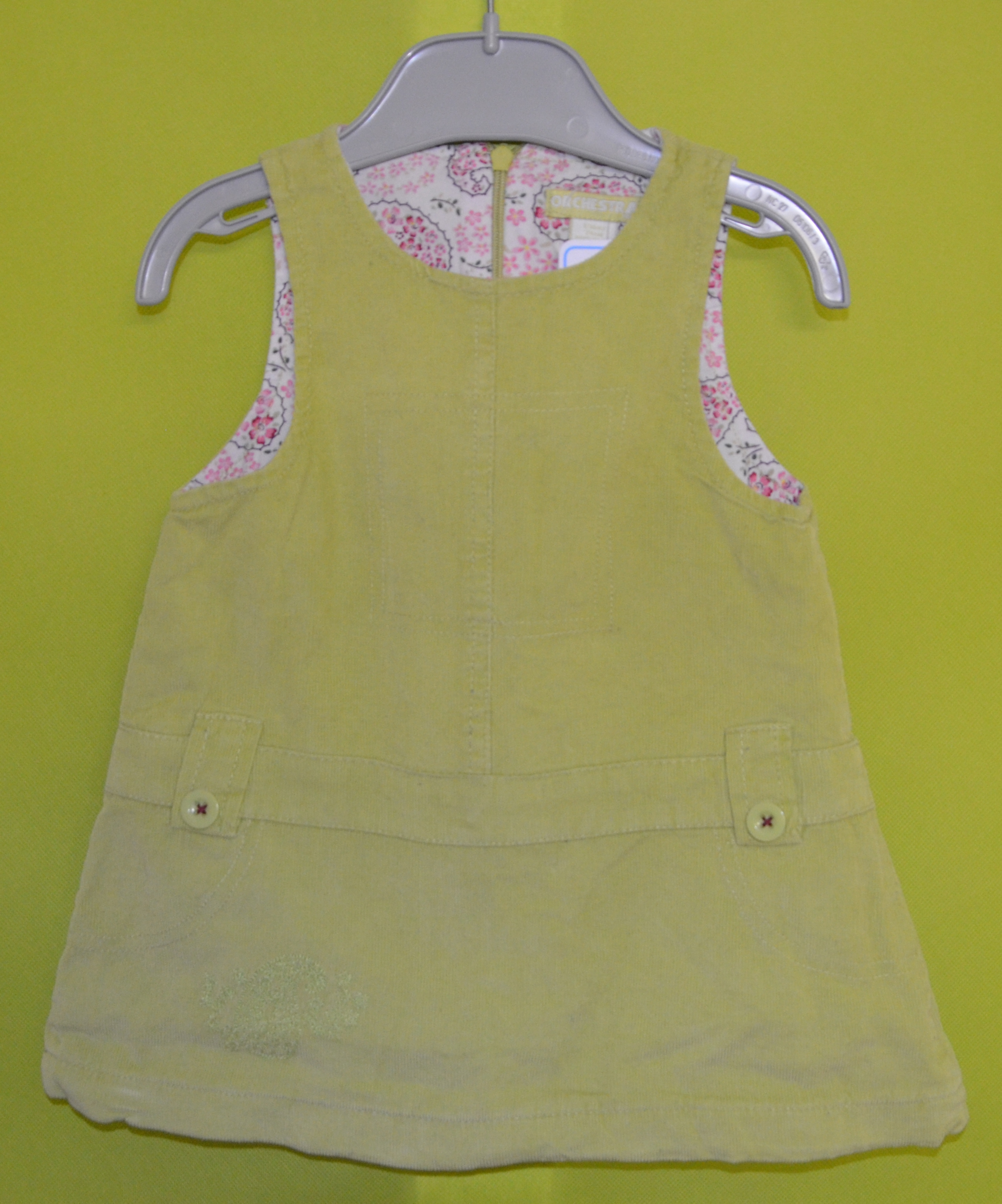 robe fille 12 mois orchestra