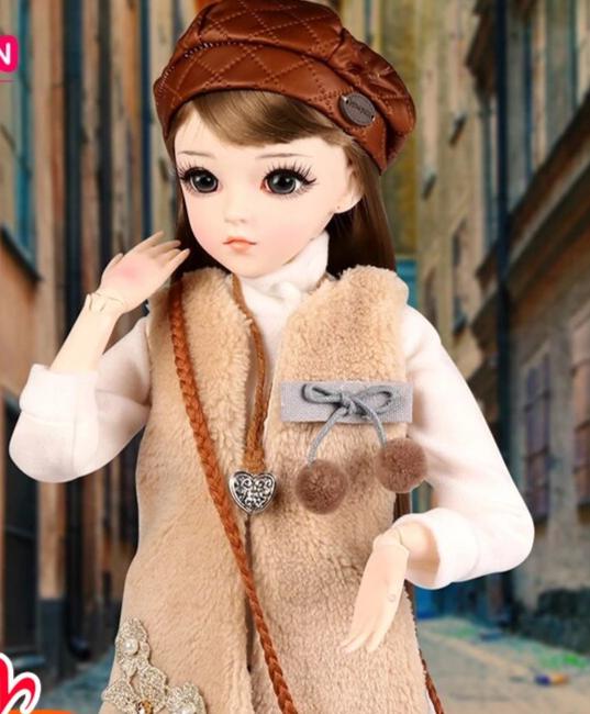 poupée BJD real doll 1/3 ucanaan 60 cm 0001