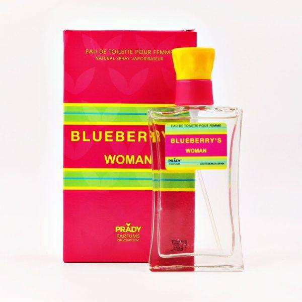 Parfum generique parfum prady femme blue berrys rose