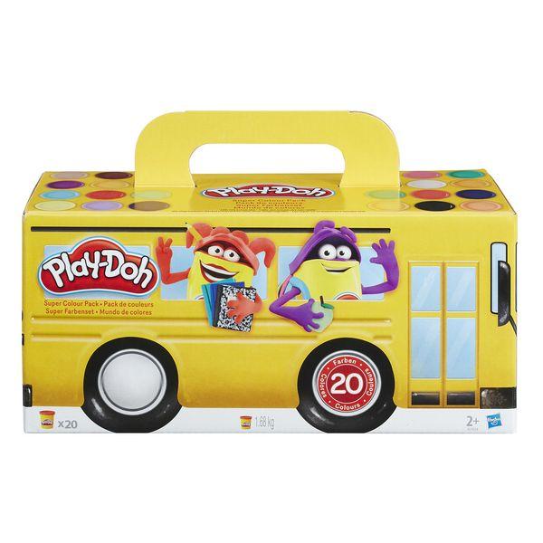 Play-Doh Set de 20 Pots Pâte à Modeler Hasbro