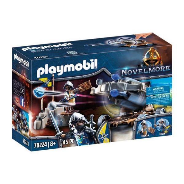playmobil chevalier 70224 chevaliers novelmore et baliste