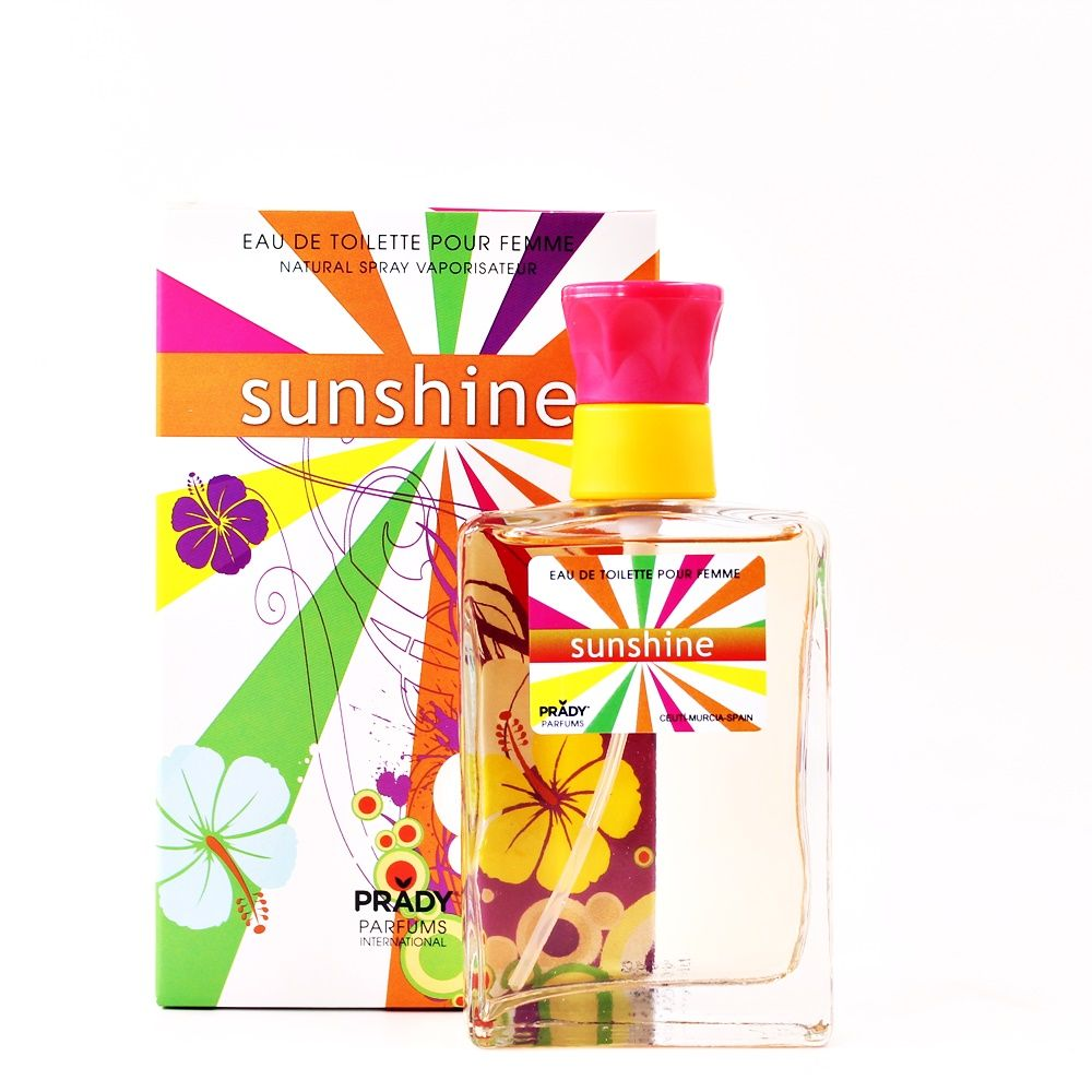 Parfum generique parfum prady femme sunshine