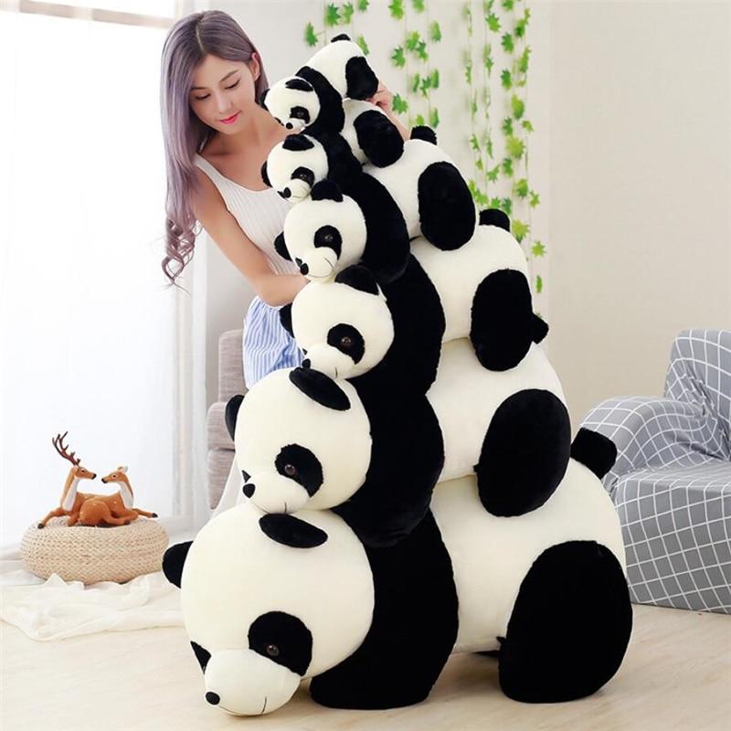 Panda peluche geante 20-60 cm KAWAII