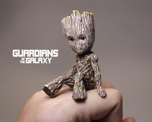 Figurine funko pop groot les gardiens de la galaxie