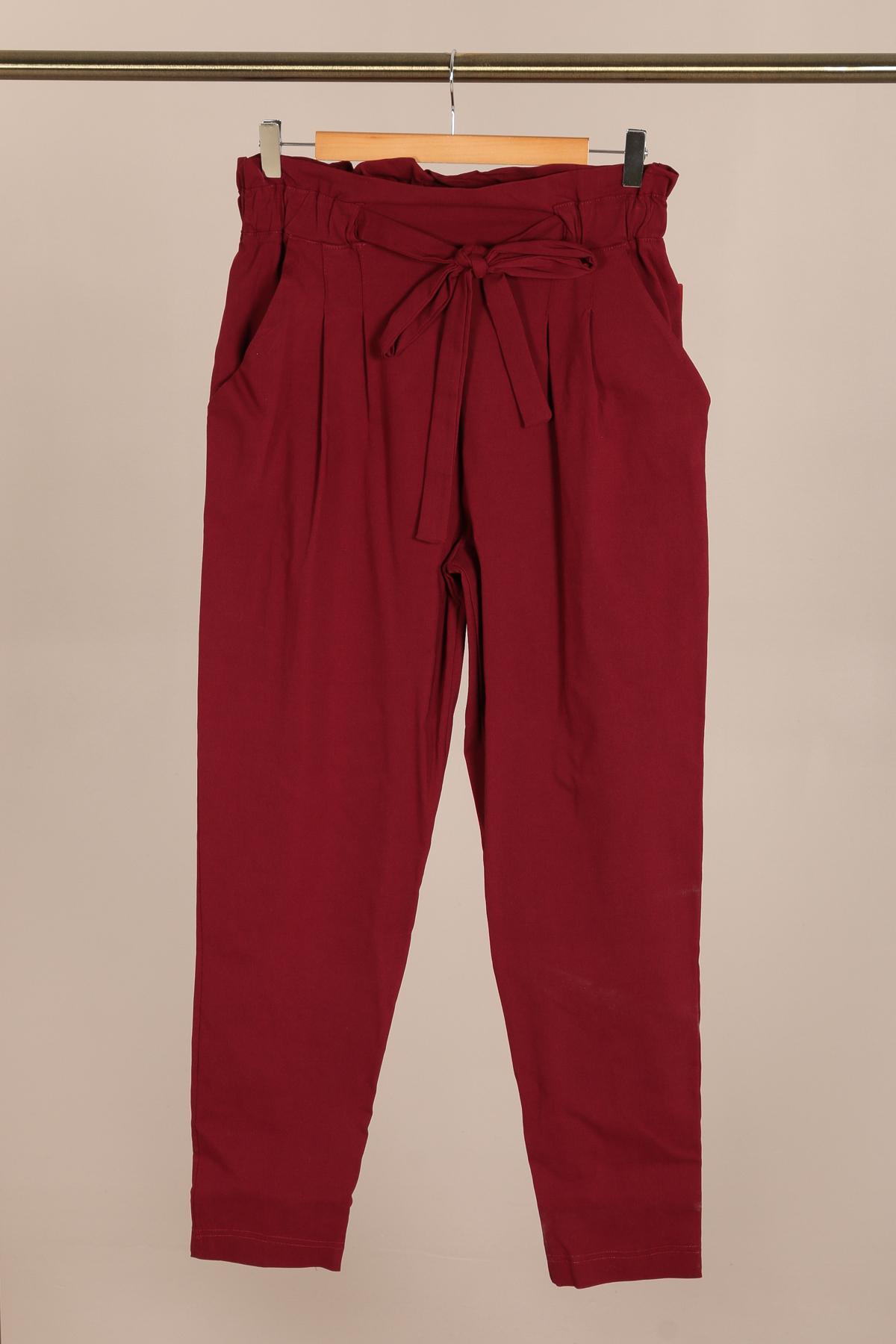 pantalon habillé femme grande taille marque 2w paris bordeaux p2123