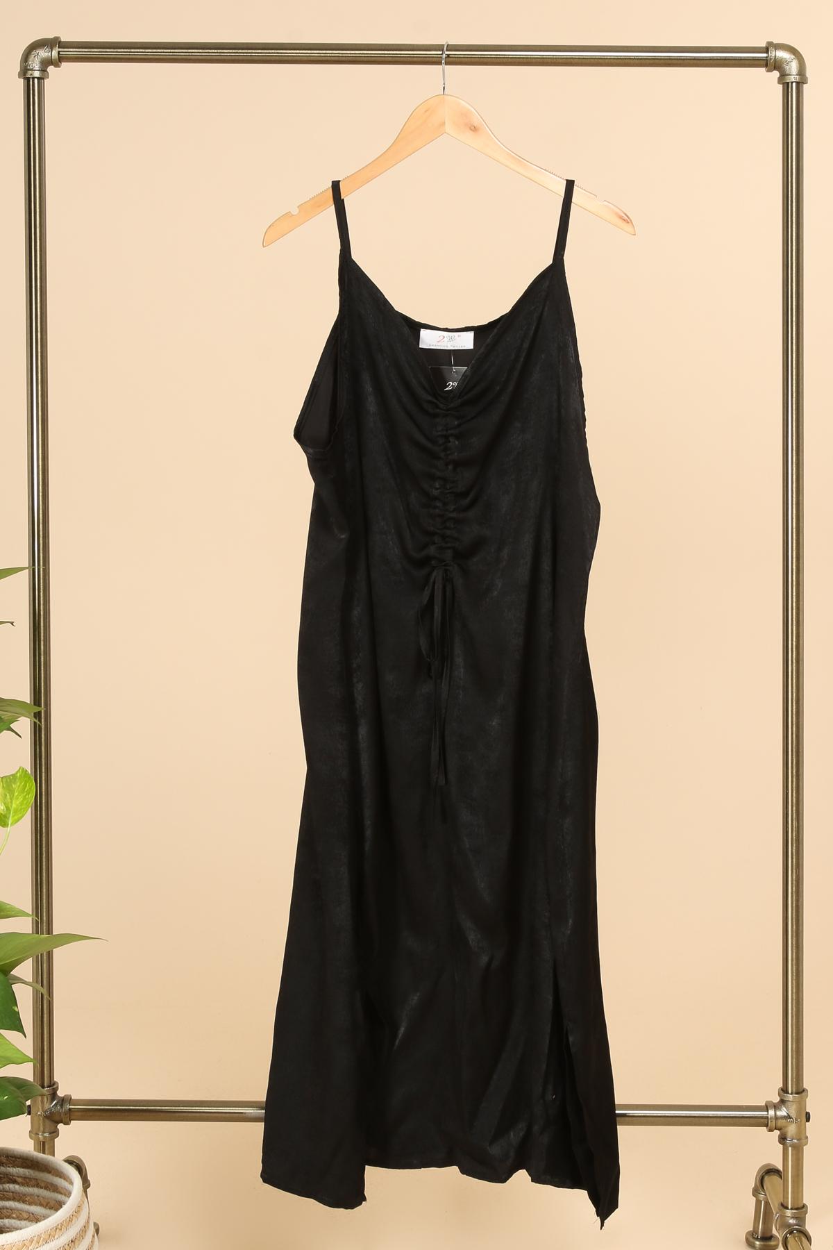 robe grande taille fete marque 2w paris noir r1358