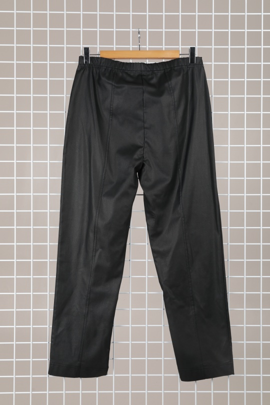 pantalon slim grande taille femme marque 2w paris noir p2152
