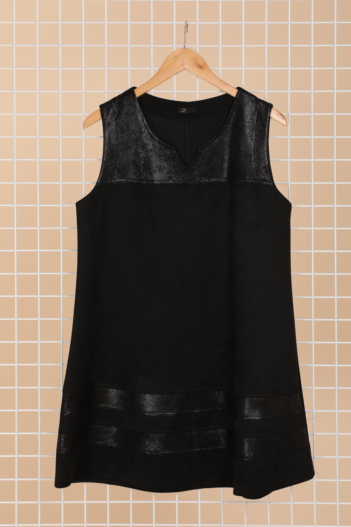 robe noire grande taille 2w noir r1367