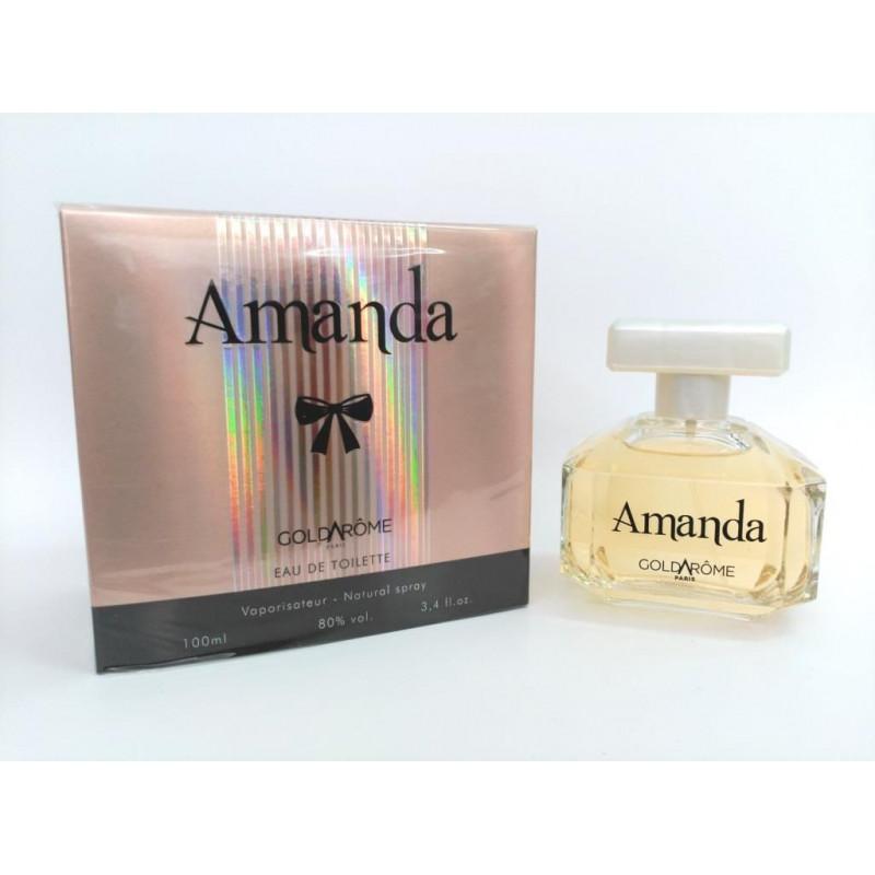 Parfum generique parfum Goldarome femme amanda