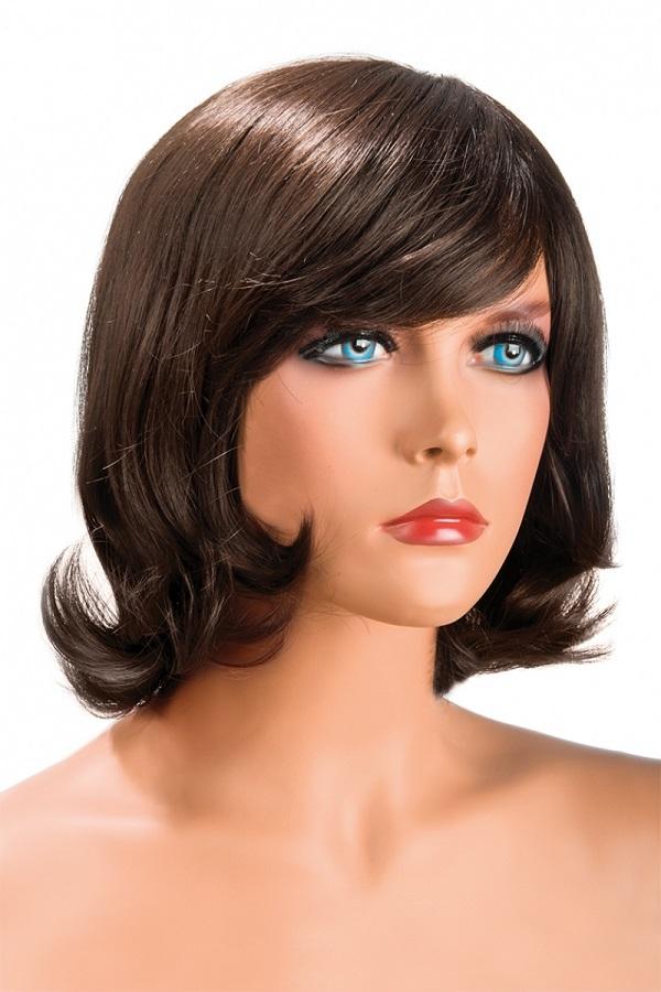 Boutique de la perruque Victoria chatain World Wigs
