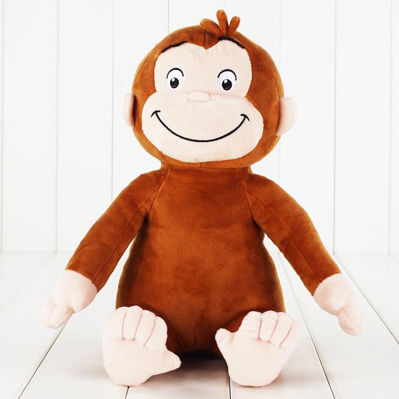 le singe george peluche 30 cm
