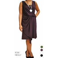 robe croisee neuilly grande taille divers coloris 42 au 48