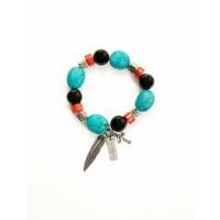 bracelet bracciale turquoise maiden art
