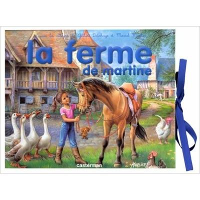 livre3 D la ferme de martine casterman occasion