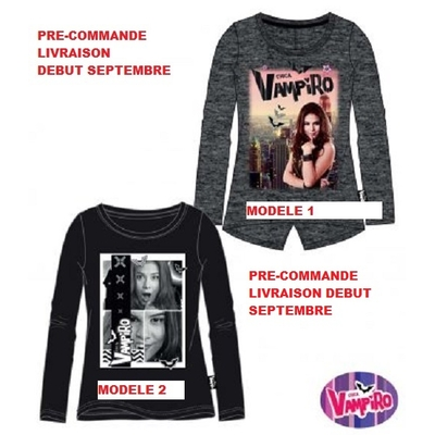 Chica Vampiro Tee-shirt manches longues 6-14 ans collection hiver 2016