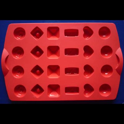 Moule silicone à chocolats TUPPERWARE