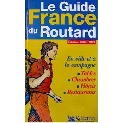 livre le guide frande du routard édition 2002-2003 occasion