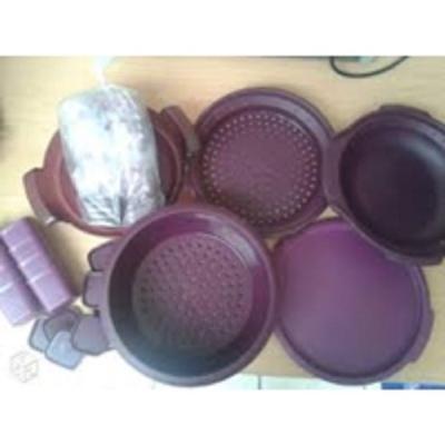 micro vap' tupperware mauve collector 50 ans avec ses 8 ramequins