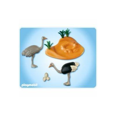 playmobil 4831 Couple d'autruches et nid occasion