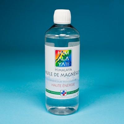 HUILE DE MAGNESIUM HIMALAYA EN FLACONS 500 ml ou 1 l