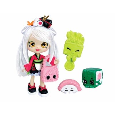 Shopkins poupée avec 2 accessoires sara sushi