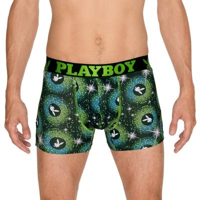 boxer playboy homme trendy imprime disco