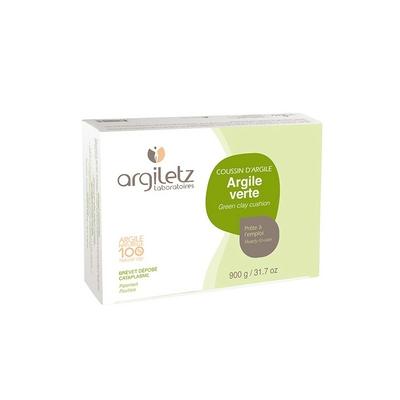 Coussins d'Argile Verte 36 alvéoles 900 gr argiletz