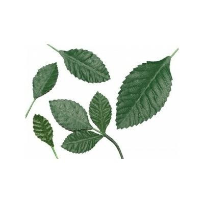 10 feuilles en velours