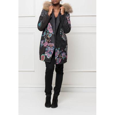 manteau 101 idées femme imprimé avec capuche f0347