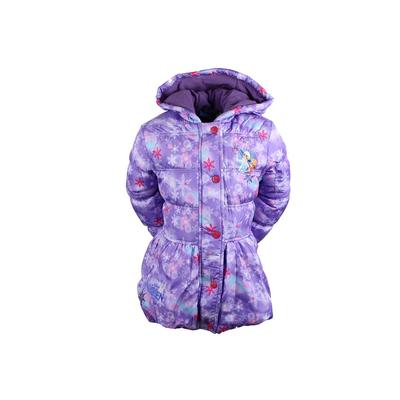 Parka  La Reine des Neiges violet du 2 au 8 ans